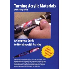 Turning Acrylic Materials DVD
