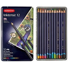 Inktense Watersoluable Pencils