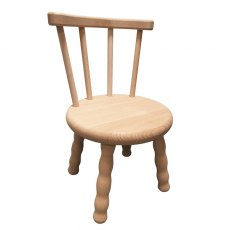 Beech Chair with Screw in Legs