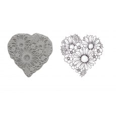Heart of Blossoms Stamp