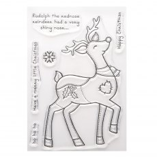 Patch Reindeer Stamp Set