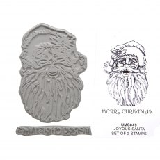 Joyous Santa Stamp Set