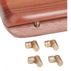 Mini Brass Hinges - Pack of 10