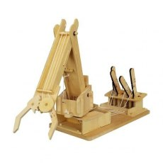 Wooden Kit - Mega Build Crane