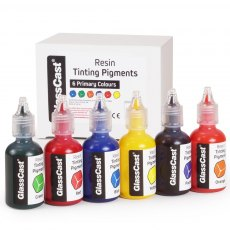 Resin Tinting Pigments -  Primary Colours (Pack of 6)