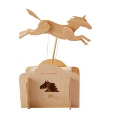 Wooden Kit - Jumping Horse