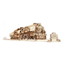 V-Express Steam Train & Tender Model Kit
