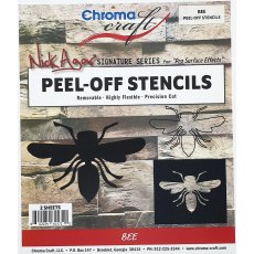 Bee Peel-Off Stencil Set