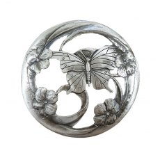 Pewter Lid - Butterfly Wings