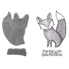 Mr Fox Stamp Set