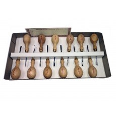 12 Piece Micro Woodcarving Tool Set