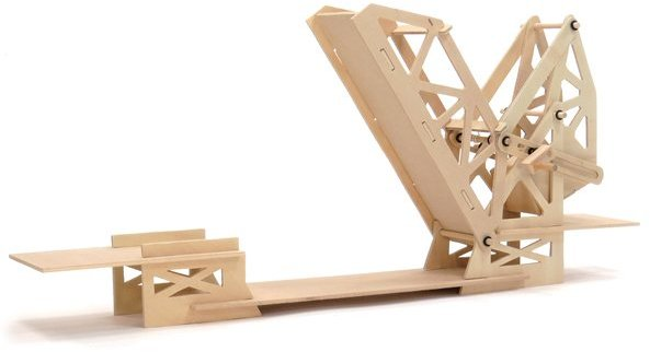 WK26732 - Wooden Kit - Straus Bascule Bridge